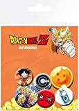GB Eye Ltd, Dragon Ball Z, Mix, Button Badge Pack