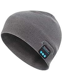 Martinad Cappelli Rigonfiabili Bluetooth Lavabili Bluetooth Il Libero  Elegante per Tempo Unico RER con Altoparlante Stereo e3b3990f7dca