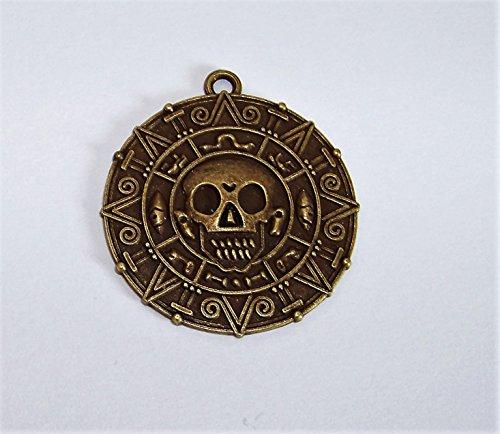 Fluch der Karibik Medallion Elizabeth Swann + eine kleine Überraschung im Set , Medallion , Farbe: (Der Karibik Elizabeth Kostüme Piraten)