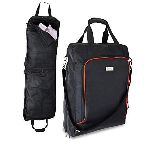Cabin Sized Business Suit and Dress Carrier - 55x40x20cm - Hand Luggage (Black)