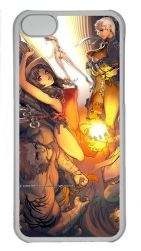 Blade & Soul back shell case for iPhone 5C, iPhone 5C case with BMW logo