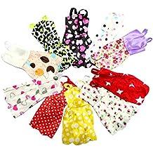 10 X Vestidos Pretty Doll para muñeca. Barbie compatible.