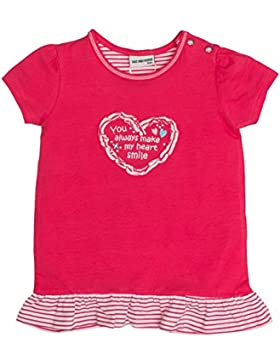 SALT AND PEPPER Baby-Mädchen T-Shirt B Love Uni Rüschen