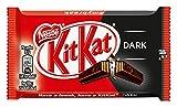 Nestle KitKat Dark Schoko-Riegel, Dunkle Schokolade, 24er Pack (24 x 41,5g) großpackung