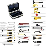 ELORA Sanitär Starter-Set PREMIUM 61-teilig inklusive Werkzeugkoffer
