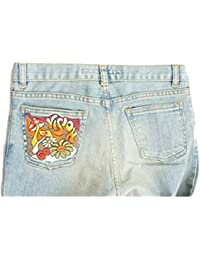 "Ladies MISS SIXTY ""KILLAH"" Light Blue Distressed Flared Jeans"