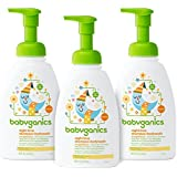 Babyganics Night Time Shampoo + Body Wash, Orange Blossom, 16 oz (Pack of 3), Packaging May Vary