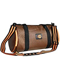 ORANGUTAN 25 Litre Brown Foam Gym Bag ,travel Duffle