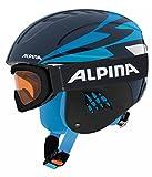 ALPINA Kinder Skihelm blau 54-58