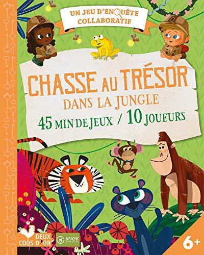 Jeu de goûter aventure dans la jungle - pochette avec accessoires par N'Joy