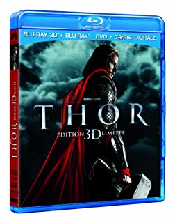 Thor [Combo Blu-ray 3D + Blu-ray + DVD + Copie digitale] (B0057MOLQA) | Amazon price tracker / tracking, Amazon price history charts, Amazon price watches, Amazon price drop alerts