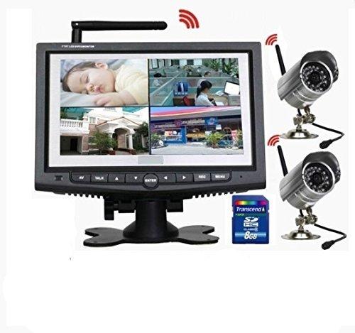 Sistema Completo Videosorveglianza Wireless 2...