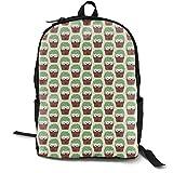 Smaller Hedgehogs Disguised As Cactuses Adult Premium Travel Backpack, Water-Resistant College School Bookbag, Sport Daypack, Outdoor Rucksack, Laptop Bag for Men&Women