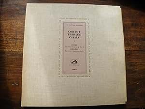les gravures illustres - Cortot , Thibaud , Casals I - Haydn - Schubert - voix de son maitre COLH 12