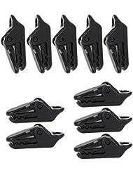 maphissus plástico toldo, Alligator Clip 10pcs/set para Camping