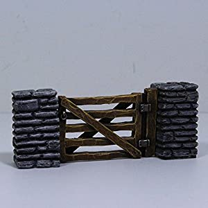 WWG 28mm World War 2, WWII, Gate and Stone Pack by WWG