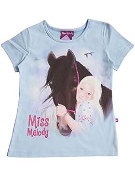 Mädchen Miss Melody Shirt, hellblau