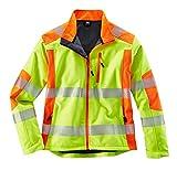 Terratrend Job 61274-s-9051Größe S Herren Revolution Softshell Jacke–gelb/orange–P, mehrfarbig, 61274-3XL-9051