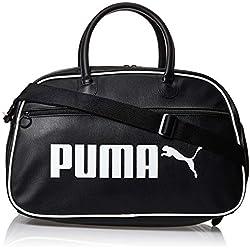 PUMA Campus Grip Bag Retro Bolsa Deporte, Adultos Unisex, Black, OSFA