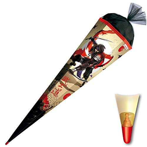 Roth Schultüte Ninja, Größe: 85cm,6-eckig