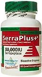 Serraplus+ MSM Serrapeptase -Pack of 60 Capsules by Wholesale Health Ltd