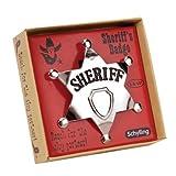 Schylling–4920997–Zubehör-kostüm–sheriff' S Badge aus Metall