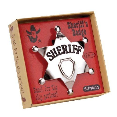 Kostüm Spitzen Elite - Schylling-4920997-Zubehör-kostüm-Sheriff' S Badge aus Metall