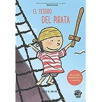 El Tesoro del Pirata: En letra MAYÚSCULA y de imprenta: libros para niños de 5 y 6 años (Aprender a leer en letra…