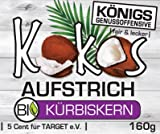Kokos Aufstrich mit Kürbiskernöl, BIO, kaltgepresst, GO!, 160ml, im Glas - Bremer Gewürzhandel