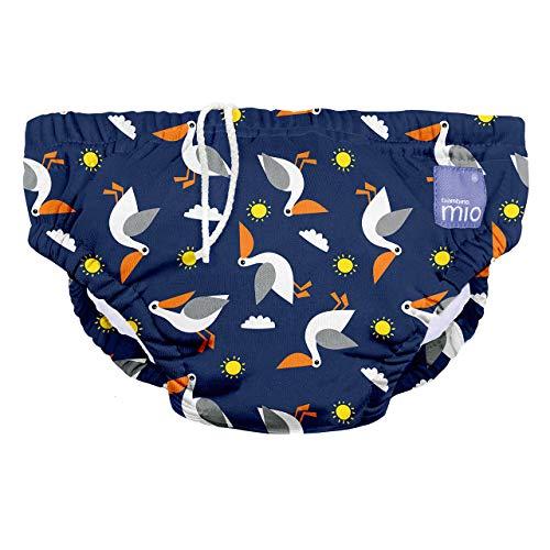 Bambino Mio, wiederverwendbare schwimmwindel, pelikan, M (6-12 Monate)