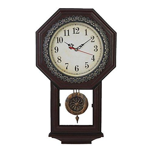 Giftgarden Reloj de Péndulo de Estilo Vintage Clási