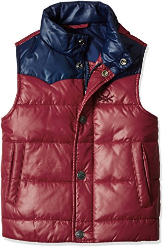United Colors of Benetton Baby Boys' Jacket (16A2WU05G050G9020Y_Maroon)