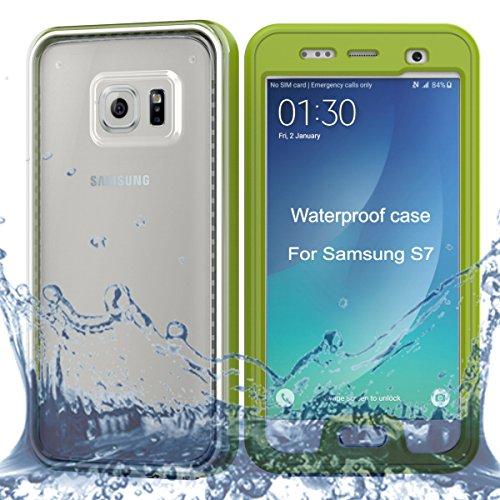 Wendapai zum Samsung Galaxy S7 wasserdicht HülleAbdeckung Dust-Resistant Watertight Hülle zum Samsung Galaxy S7 Full Protect Telefon Hülle