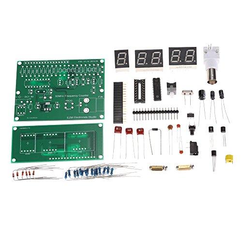 KKmoon Hohe Empfindlichkeit 1Hz - 50MHz Frequenz Zähler Zähler Messung Tester Modul 7V 9V 50mA (DIY-Kit) (Generator Electronic)