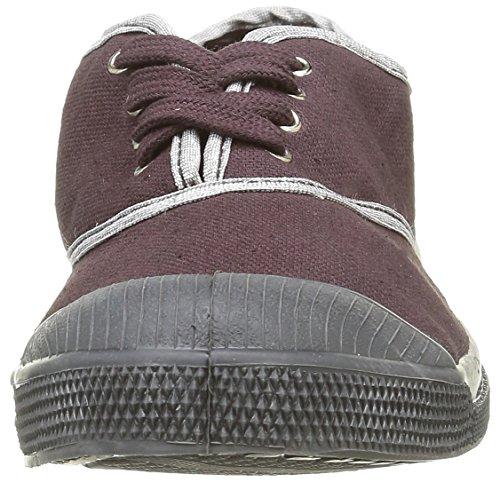 Bensimon - Tennis Shinypiping, Sneaker Donna Viola (Violet(414 Aubergine))