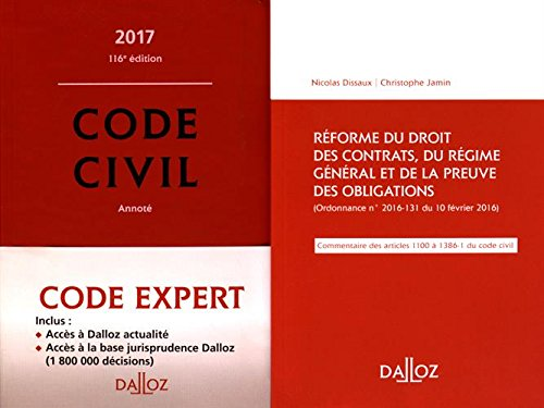 Code Dalloz Expert. Code civil 2017 - 13e éd.