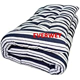 Everwey Enterprise White Washable Cotton Material (3 x 6 Feet) / (36 Inches X 72 Inches) Mattress/Cotton Gadda