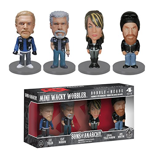 Funko Wacky Wobbler: Sons of Anarchy Mini Figure (4-Pack) by Funko