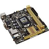 Asus H81I-PLUS Mainboard Sockel 1150 (mini ITX, Intel H81, DDR3 Speicher, SATA, 4x USB 3.0)