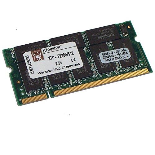 512MB Ram Laptop SODIMM Kingston ktc-p2800/512DDR1pc-2100266MHz -