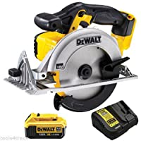 Dewalt DCS391N 18V 165mm XR Li-ion Circular Saw + 1 x 4.0ah DCB182 Battery & DCB115 Charger