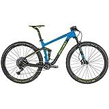 Bergamont Fastlane Team 29'' Carbon MTB Fahrrad blau/schwarz/gelb 2019: Größe: XL (184-199cm)