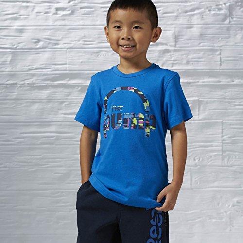 Reebok Kinder T-Shirt B Up Pump T M blau (Bluspo)