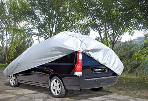 Quantio Premium Autoplane - Licht resistent, Wetterfest, elastisch - (Gr. S) 4,0 x 1,6 x 1,2 m