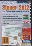 ALDI Steuerprogramm Steuer 2012 für das Steuerjahr 2012 Inkl. Konz als E-Book
