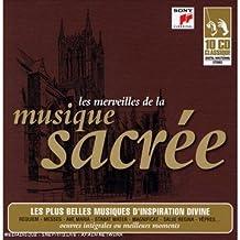 Coffret 10 CD :  Les Merveilles De La Musique Sacree