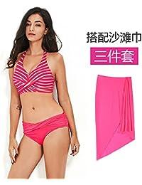 XIAOHUAHUA Plage Vacances Hot Spring Maillot De Bain Bikini Femme Maillot De Bain De Source Chaude Simple