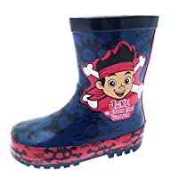 Disney Jake and The Neverland Pirates Rubber Wellington Boots