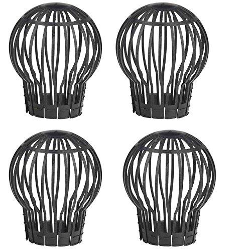 SIDCO ® Laubfang Laubschutz Fallrohrschutz Dachrinnenschutz Verschlusskappe 4 Stück