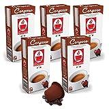 Bonini Kaffeekapseln, Corposo - Nespresso kompatibel - 5er-Pack (5 x 10 Kapseln)